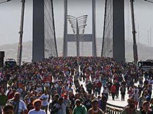 Avrasya Maratonu yaplıyor
