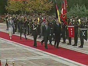 Hayrunnisa Gül ilk kez resmi törende