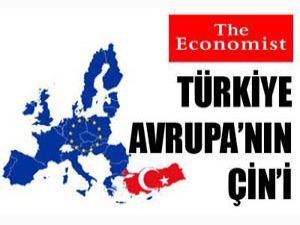 The Economist: Türkiye Avrupanın Çini
