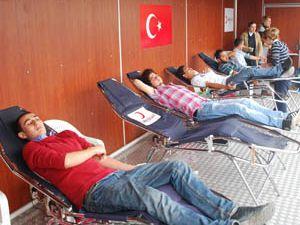 Sarayönüde kan bağışı kampanyası