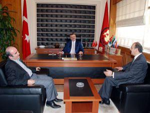 Oda Başkanları Büyükşehir Belediyesinde toplandı