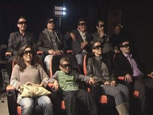 Konyada 5 boyutlu sinema keyfi