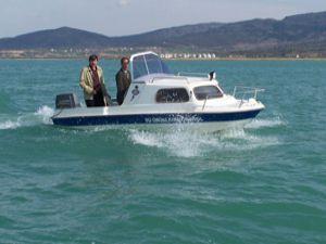 Beyşehir Gölünde kaçak avlananlara ceza