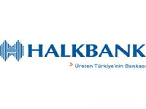 Halkbank para basıyor!