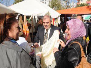 Kadın girişimciler pazara indi