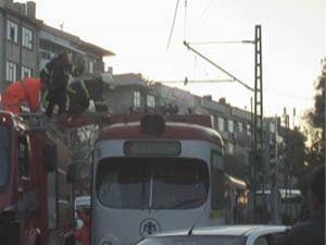 Tramvay seferleri durdu