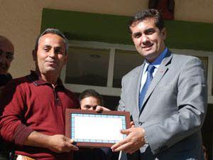 Meram Belediyesinden gönüllü temizlikçilere ödül