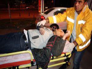 Alkollü şahsı 5 kişi dövdü