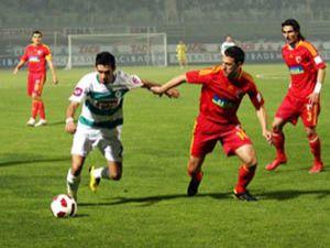 Konyaspor Kayseriye boyun eğdi!