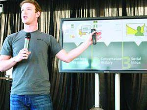 Facebooktan e-mail devrimi