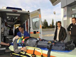 Konyada yine trafik kazası