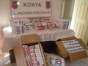 Jandarma kaçak sigaralara geçit vermedi