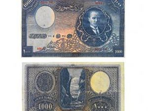 Atatürkün bin lirası şimdi 250 bin lira