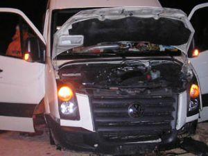 Kazada 12 kişi yaralandı