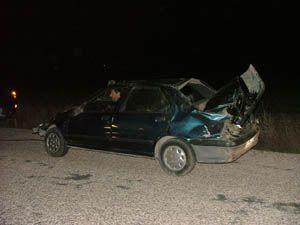 Kuluda kazalar eksik olmuyor: 4 yaralı