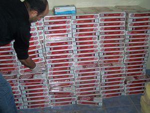 30 bin paket kaçak sigara yakalandı