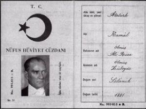Atatürkün adı Kemal değilmiş !
