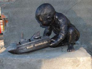 İşte Mavi Marmara anıtı
