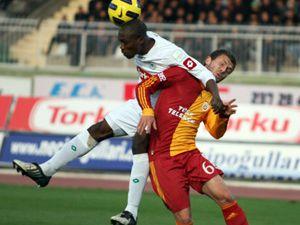 Konyaspor kötü Galatasaraya kaybetti