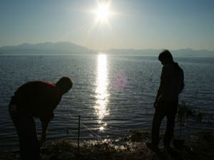 Beyşehir Gölünde olta günleri başladı