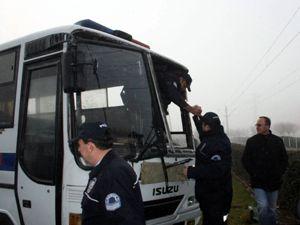 11 polis memuru yaralandı