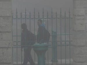 Beyşehiri sis bastı