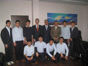 Altay öğrencilere rehber oldu