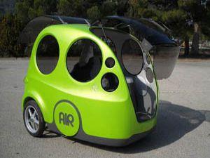 Hava ile çalışan otomobil