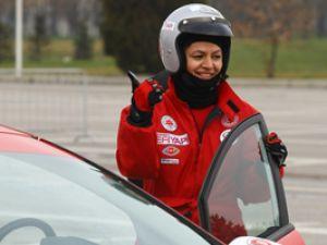 Milletvekili Ayşe Türkmenoğlu Formula1e hazır!