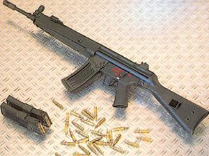 Konyadan Iraka uzun namlulu silah