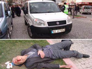 Akşehirde trafik kazası
