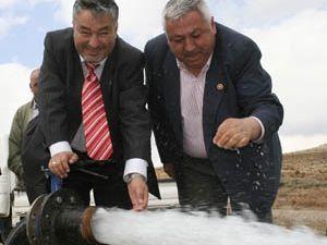 Konya'da susuz köy sorununu ortadan kaldırdık