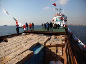 Defne gemisi Pakistan yolunda