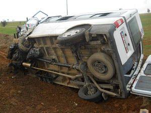 Beyşehirde trafik kazası: 7 yaralı