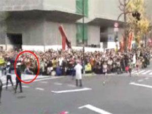Japon sporcu dalgınlığın kurbanı oldu