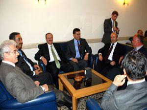 Başkan Kalaycı, Erdoğanı ziyaret etti