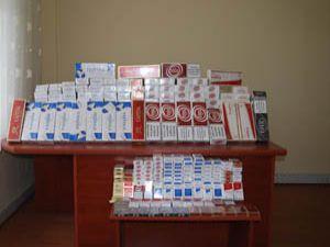 2 bin paket kaçak sigara yakalandı
