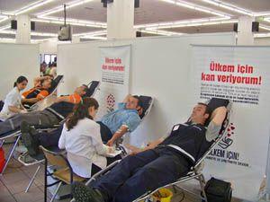 Ülkem için kan bağışı