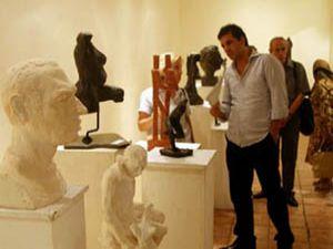 SÜde Anar Eyni Atölyesi heykel sergisi