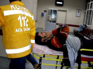 Konyada silahlı kavga: 3 yaralı