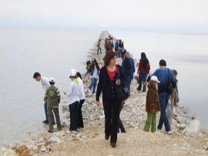 Yavru TEMA'cılar Tuz Gölü için yürüdü
