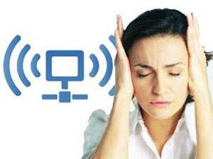 Kablosuz internet beyine zarar veriyor!