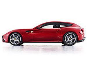 İşte 4 çeker Ferrari