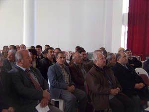Bozkırda bağcılık semineri verildi
