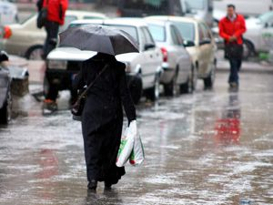 Konyada yağışlı gün