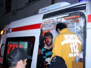 Aile arası döner bıçaklı kavga: 5 yaralı