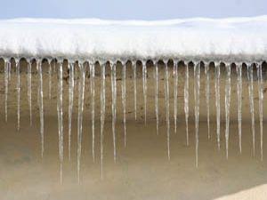 Hadimde buzlar tehlike oluşturuyor