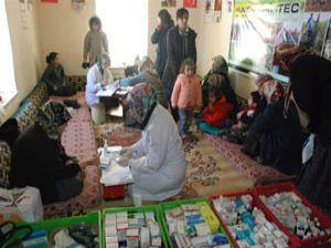 Karatayın köylerinde sağlık taramaları
