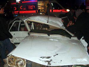 Seydişehirde trafik kazası: 6 yaralı