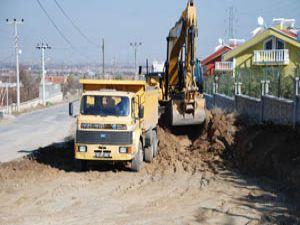 Meram Belediyesi yol çalışmalarına hızlı girdi